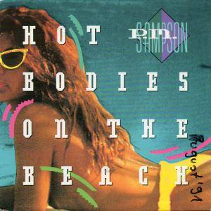 Cover - P.M. Sampson: Hot Bodies On The Beach