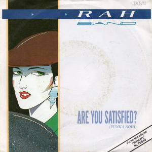 Cover - RAH Band: Are You Satisfied