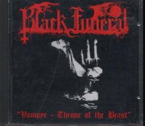 Black Funeral: Vampyr - Throne Of The Beast - Cover