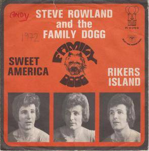 Cover - Steve Rowland & The Family Dogg: Sweet America