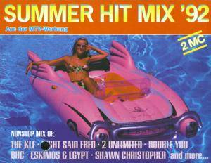 Summer Hit Mix '92 - Cover