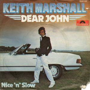 Cover - Keith Marshall: Dear John