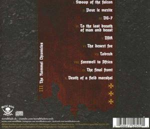 Hail Of Bullets: III: The Rommel Chronicles (CD) - Bild 2