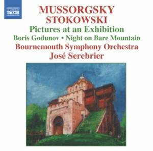 Modest Mussorgski: Pictures At An Exhibition - Cover