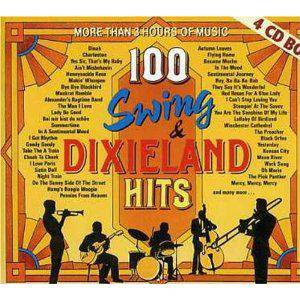 Cover - Smoking Band, The: 100 Swing & Dixieland Hits