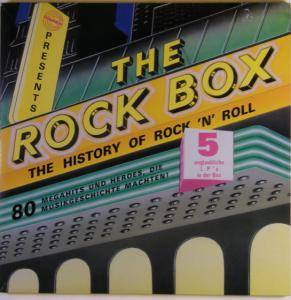 Cover - Joey Cheddar: Rock Box, The