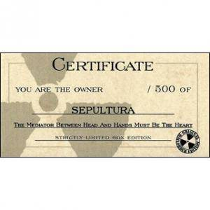 Sepultura: The Mediator Between Head And Hands Must Be The Heart (CD + DVD) - Bild 4