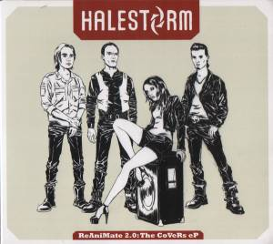 Cover - Halestorm: ReAniMate 2.0: The CoVeRs eP