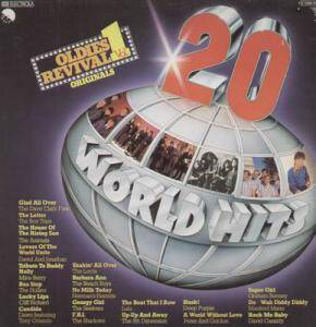 Cover - David Cassidy: 20 World Hits - Oldies Revival Vol.1