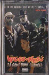 Woss Ness: Da Game Done Changed - Cover