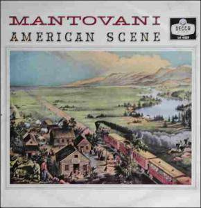 Cover - Mantovani Orchestra, The: American Scene