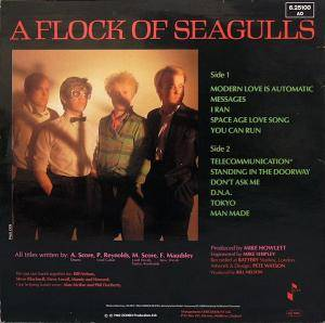 A Flock Of Seagulls: A Flock Of Seagulls (LP) - Bild 2
