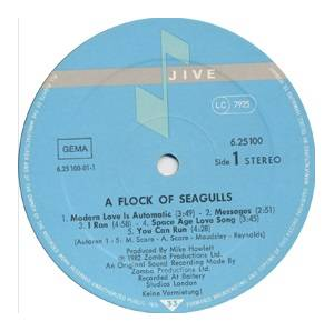 A Flock Of Seagulls: A Flock Of Seagulls (LP) - Bild 3