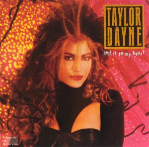 Taylor Dayne: Tell It To My Heart - Cover