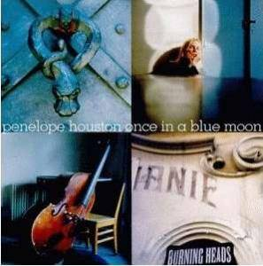 Cover - Penelope Houston: Once In A Blue Moon
