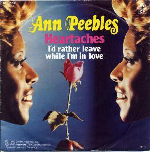 Cover - Ann Peebles: Heartaches