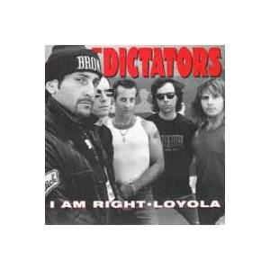 Cover - Dictators, The: I Am Right