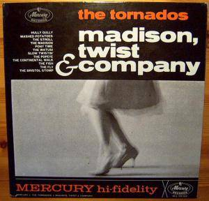 Cover - Tornados, The: Madison, Twist & Company
