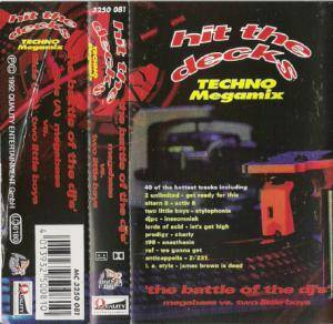Cover - Anticappella: Hit The Decks Volume One - Techno Megamix
