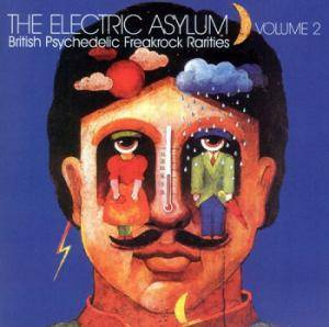 Cover - J. C. Heavy: Electric Asylum - Volume 2: British Psychedelic Freakrock Rarities, The