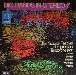 Cover - Alan Tew Orchestra: Big Bands In Stereo 2 - Ein Sound-Festival Der Grossen Tanzorchester