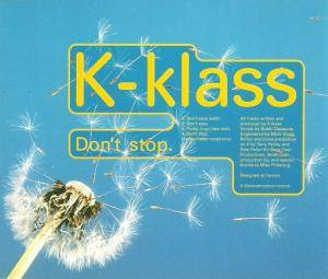 Cover - K-Klass: Don't Stop