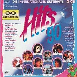 Hits 90 - Die Internationalen Superhits - Cover