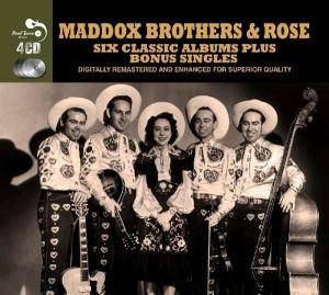 Cover - Maddox Brothers & Rose: Six Classic Albums Plus Bonus Singles