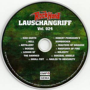 Rock Hard - Lauschangriff Vol. 024 (CD) - Bild 3