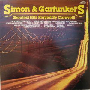 Cover - Caravelli: Simon And Garfunkel's Greatest Hits Played By Caravelli