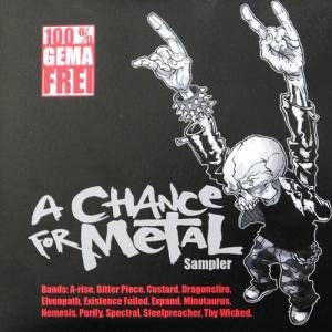 Chance For Metal Sampler, A - Cover