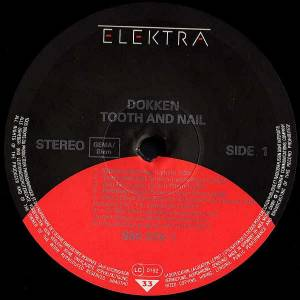 Dokken: Tooth And Nail (LP) - Bild 3