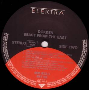 Dokken: Beast From The East (2-LP) - Bild 4