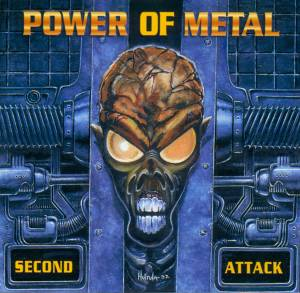 Power Of Metal - Second Attack - Cover