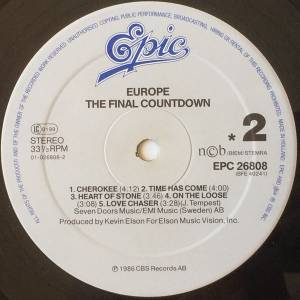 Europe: The Final Countdown (LP) - Bild 3