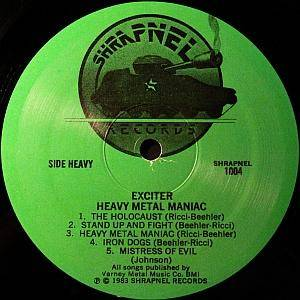 Exciter: Heavy Metal Maniac (LP) - Bild 3