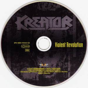 Kreator: Violent Revolution (CD) - Bild 4