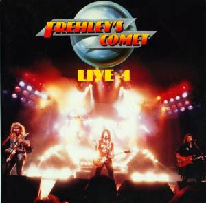 Frehley's Comet: Live + 1 - Cover