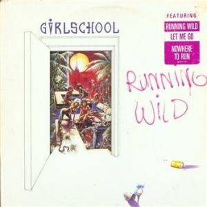 Girlschool: Running Wild - Cover