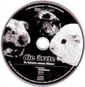 Die Ärzte: Ein Schwein Namens Männer (Single-CD) - Bild 3