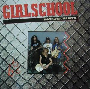 Cover - Girlschool: Race With The Devil