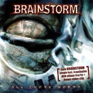 Brainstorm: All Those Words - Cover