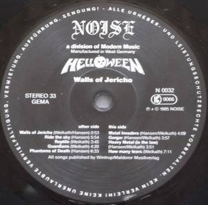 Helloween: Walls Of Jericho (LP) - Bild 4
