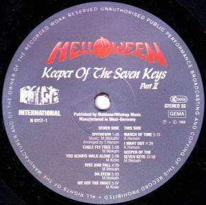 Helloween: Keeper Of The Seven Keys Part II (LP) - Bild 4
