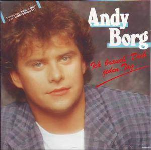 Andy Borg: Ich Brauch' Dich Jeden Tag - Cover