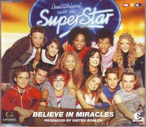 Cover - Deutschland Sucht Den Superstar: Believe In Miracles