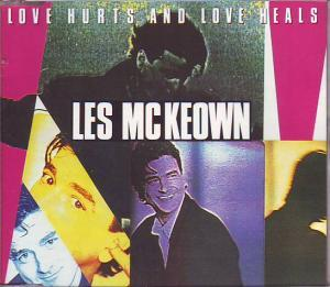 Les McKeown: Love Hurts And Love Heals - Cover