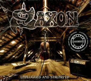 Saxon: Unplugged And Strung Up - Cover