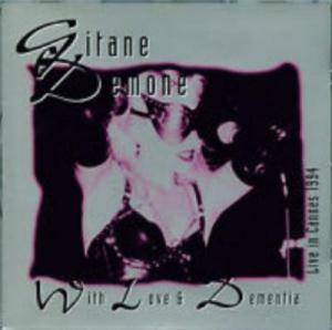 Cover - Gitane Demone: With Love And Dementia - Live In Cannes