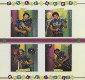 Cover - Neville Brothers, The: Neville-Ization
